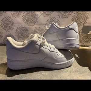New in the box woman's Nike Air Force 1's